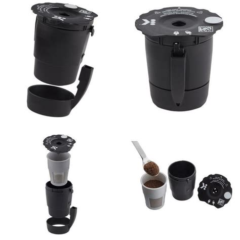 The package includes a basket, holder and lid for the filter. Keurig My K-Cup Universal Reusable Coffee Filter Black