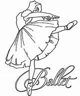 Coloring Pages Ballerina Ballet Dance Dancers Colouring Sheets Ballerinas Studio Christmas Dolls Paper Recital Dancer Dancing Printable Uploaded User Visit sketch template