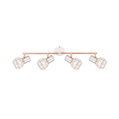 Lada Spot Led by Adjustable Lada Surface Spotlights In White Copper X4