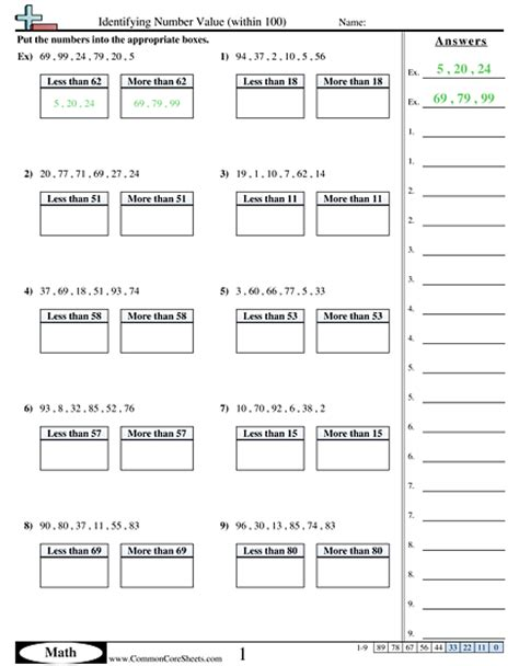place value worksheet 4th grade worksheets for all