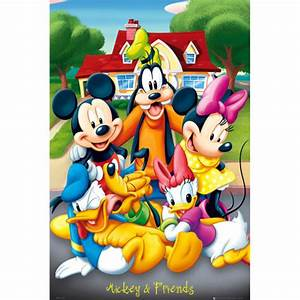 Wmf Kinderbesteck Mickey Mouse Friends : mickey mouse friends maxi poster 61 x merchandise ~ Bigdaddyawards.com Haus und Dekorationen