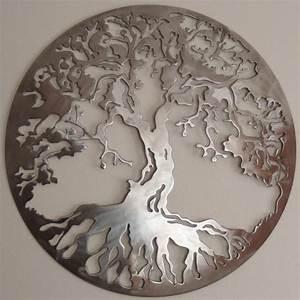 Art De Vie : arbre de vie art en m tal d coration murale ~ Zukunftsfamilie.com Idées de Décoration