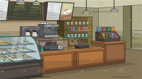 Well you're in luck, because here they come. The Interior Of A Coffee Shop Background - Clipart ...