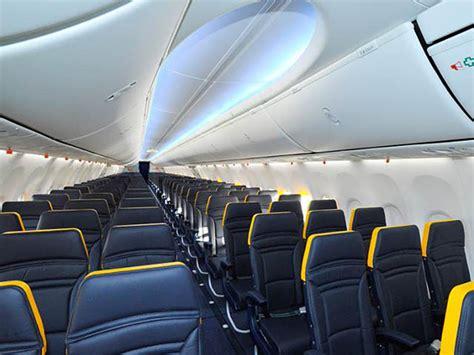 vol interieur thailande low cost ryanair premier aper 231 u de la future cabine air journal