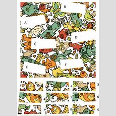 Match Pieces Puzzle With Cartoon Animals  Free Printable Puzzle Games