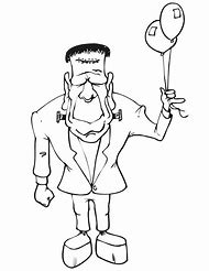 Best Frankenstein Coloring Pages Ideas And Images On Bing Find
