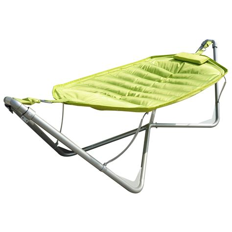 outsunny single seat outdoor patio hammock swing w canopy