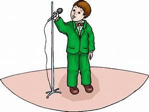 Boy Singing Free Clipart | Free Microsoft Clipart