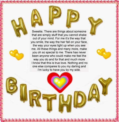 birthday wishes sample letters