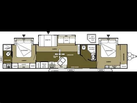 wildwood dlx   bedroom  bathroom  travel trailer youtube