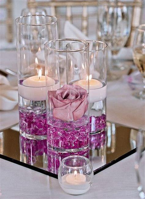 decoration mariage de luxe le vase en verre droit cylindrique haut 25 cm luxe d 233 coration de table mariage mariage