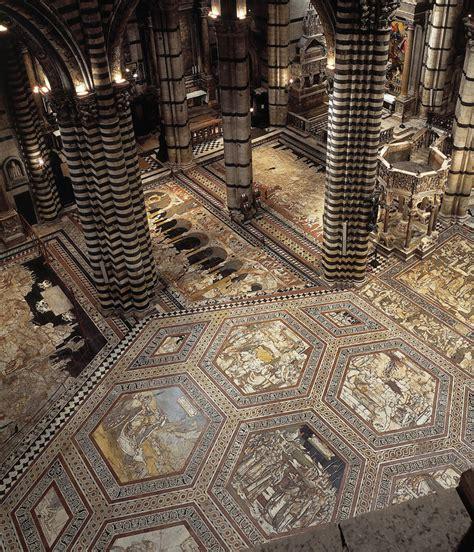 pavimenti duomo di siena il pavimento rivelato duomo di siena te la do io