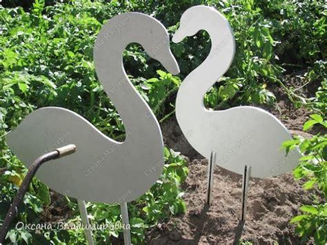 diy swan garden decor  plastic bottles