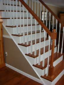 Treppe Renovieren by From Carpet To Wooden Stair Treads Guest Remodel