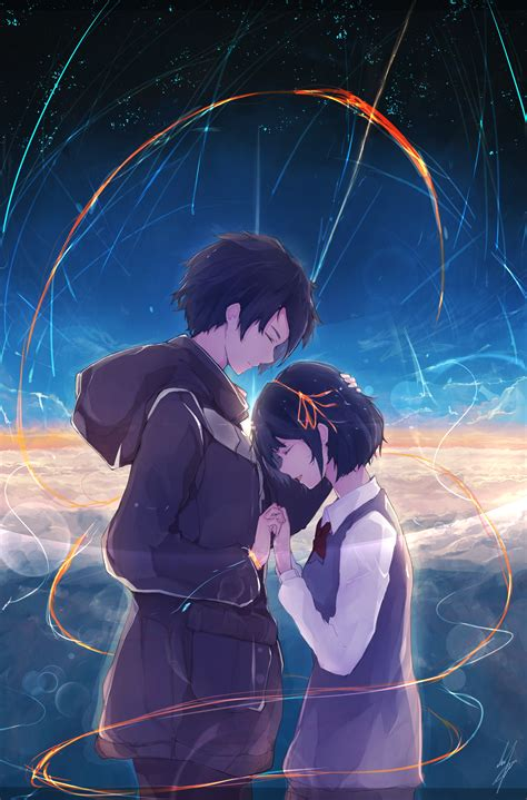 Kimi No Na Wa Kimi No Na Wa Your Name Page 2 Of 9 Zerochan Anime