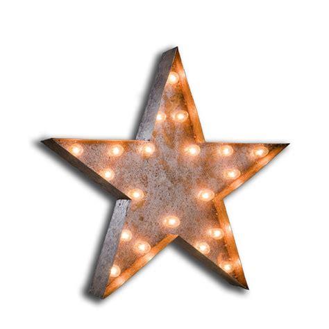 Vintage STAR Light Bulb Symbol