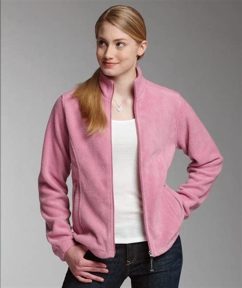 charles river apparel style  womens voyager fleece jacket casual clothing