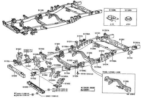 Toyota Truck Plug Hole For Frame Body Interior