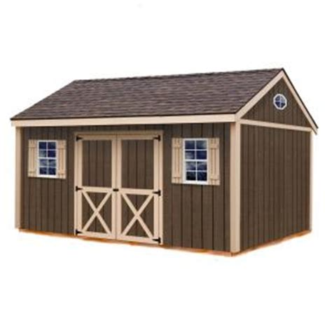 Home Depot Storage Sheds Kits by Best Barns Brookfield 16 Ft X 12 Ft Wood Storage Shed