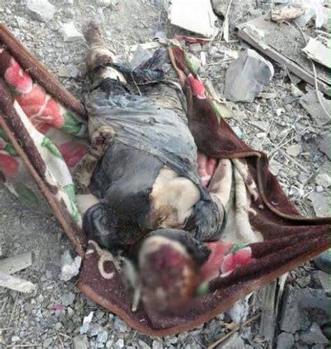 graphic pics kurdish village allegedly bombed today