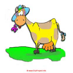 Cow Cartoon Clip Art Free