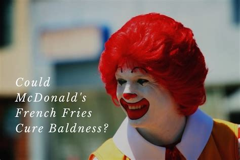 Could an Ingredient in McDonald's French Fries Cure Hair
