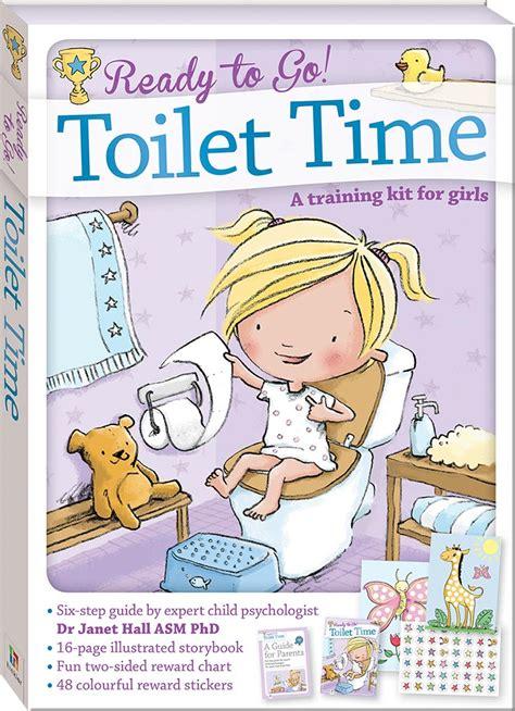 ready   toilet time  training kit  girls games