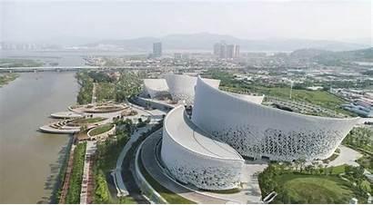 Cultural Form Expression Centre Fuzhou Architects Pes