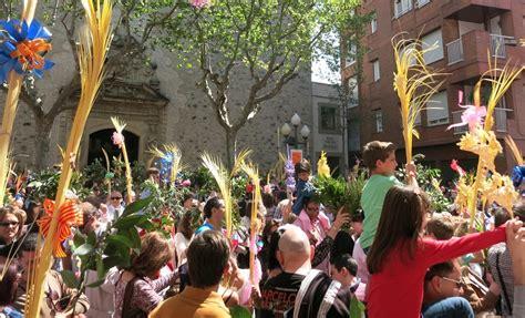 palmsonntag beginn der semana santa  spanien