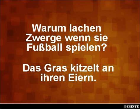 Warum Lachen Zwerge Wenn Sie Fußball Spielen?