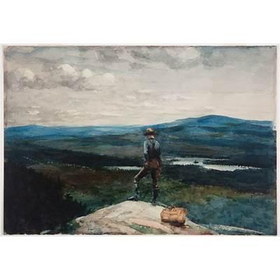 File:Winslow Homer - The Ranger Adirondacks.jpg