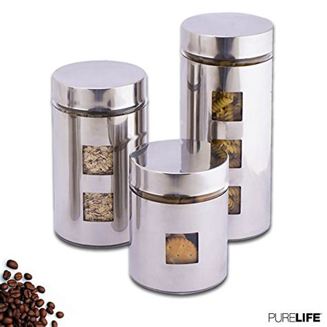 Food Canisters Kitchen by Top 10 Kitchen Glass Canisters Airtight Of 2019 No Place