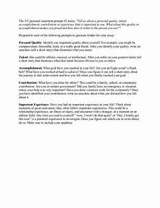 Uc personal statement essay bowling alone essay samples of uc