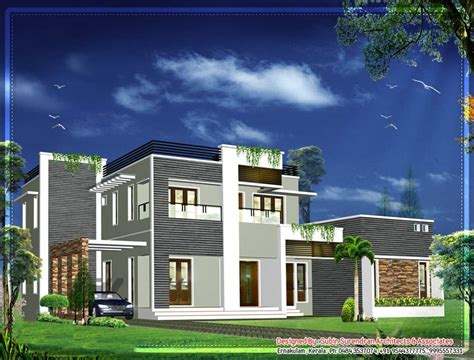 Latest Kerala Home Design At 2012 Sq.ft