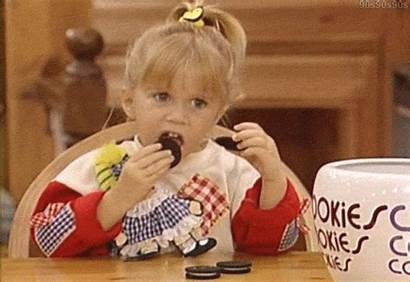 Michelle Tanner Oreos China Giphy Stuffed Foodie