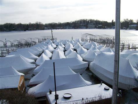 Boat Slip Lake Minnetonka by Lake Minnetonka Boat Winterization Storage Bean S