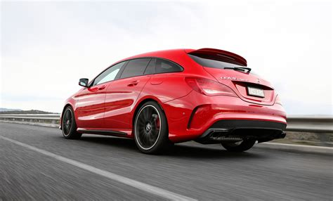 The cla45 shooting brake also sports amg's protruding panamericana grille, which is identified by the multiple vertical slats. Mercedes-AMG CLA 45 Shooting Brake (X117) specs & photos - 2015, 2016, 2017, 2018, 2019, 2020 ...