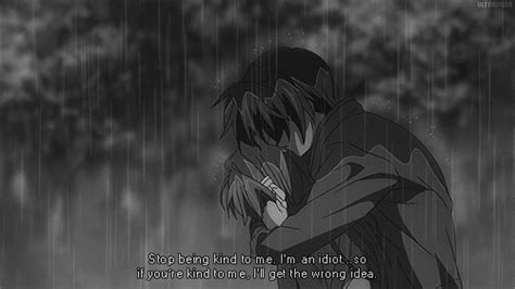 Filter by device filter by resolution. Anime sad hug gif 2 » GIF Images Download