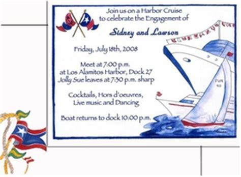 invitations nautical invitations bon voyage invitation