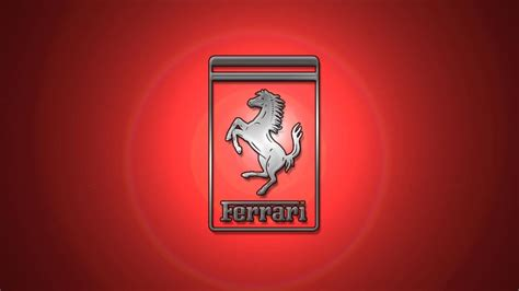 The famous symbol of the ferrari race team is a black prancing stallion on a yellow shield, usually with the letters s f (for scuderia ferrari), with three stripes of green, white and red (the italian national colors) at the top. Ferrari Scuderia Logo Wallpaper Photos HD 7153 #6443 Wallpaper | Cool Wallpaper HDwallpaperfun.com