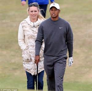 Photos of Tiger Woods and Lindsey Vonn