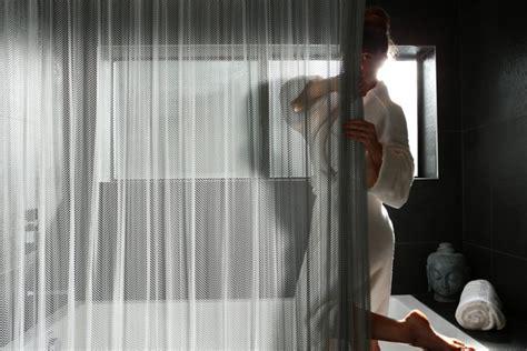 Elegant High-end Shower Curtains