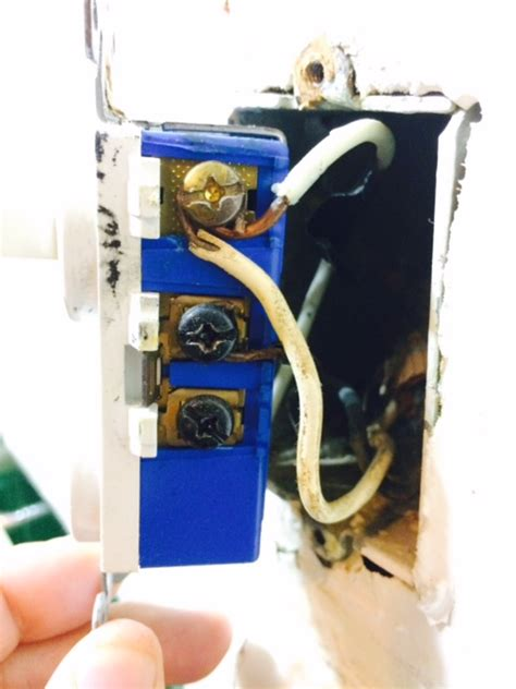 Electrical Combination Box Switch Two Wires Only