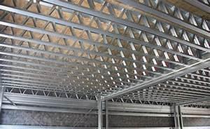 steel floor joists lattice beams ezisteelconz With steel floor joist cost