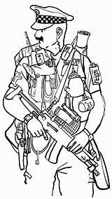 Police Officer Coloring Policeman Printable Drawing Helicopter Template Cop Hero Popular Getdrawings Getcolorings Navigation Coloringhome sketch template