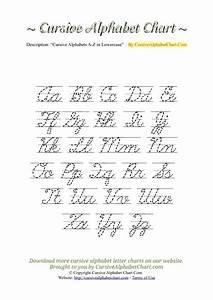 cursive alphabet pdf worksheets releaseboard free With cursive letter alphabet chart