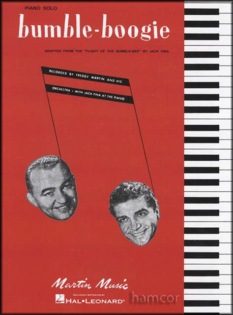 Bumbleboogie Piano Solo Sheet Music Boogiewoogie Blues