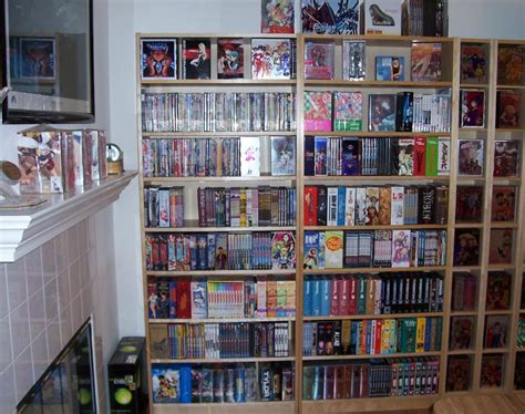dvd collection evolution