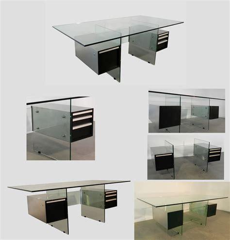 bureau verre et acier bureau verre et acier maison design wiblia com