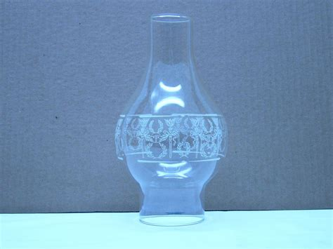 Hurricane Replacement Clear Glass Globe Oil L Greek